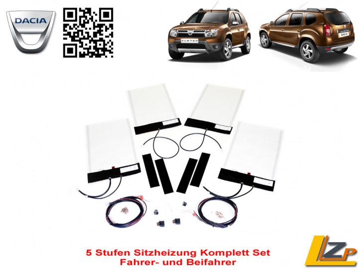 Dacia Duster 5 Stufen Sitzheizung