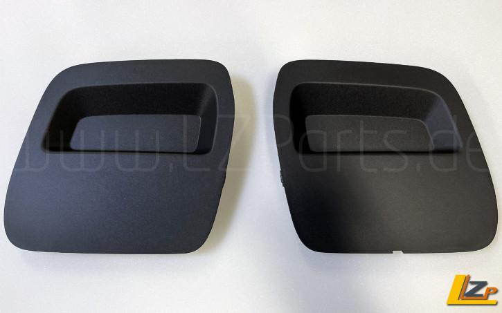 Dacia Duster II Stoßstangen Inlay Service Kappe / Abdeckung Schwarz