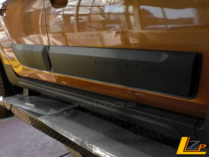 Dacia Duster II Seitenschutzleisten Zierleisten Planken Bumper Set 4-teilig