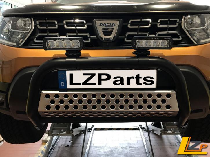 Dacia Duster II Antec Frontbügel Schwarz Pulverbeschichtet by LZParts