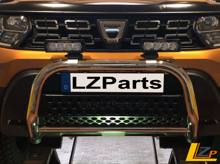 Dacia Duster II Antec Frontbügel Chrom Poliert by LZParts