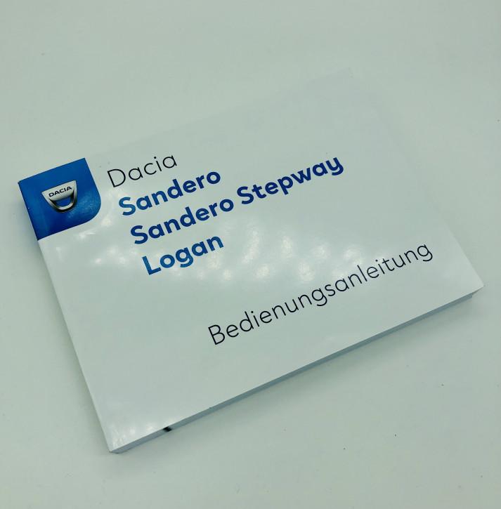 Dacia Sandero III (Stapway) Logan Bedienungsanleitung/Wartungsheft Neues Modell