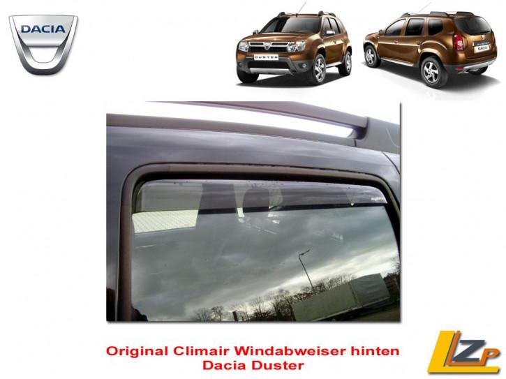 Dacia Duster Regen- und Windabweiser hinten von Climair