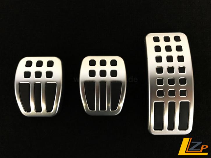 Aluminium Sportpedalauflagen Renault Clio IV und Captur Manuelles Schaltgetriebe