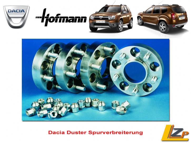 Dacia Duster Spurverbreiterung 2 x 24mm (48mm) für eine Achse von Hofmann