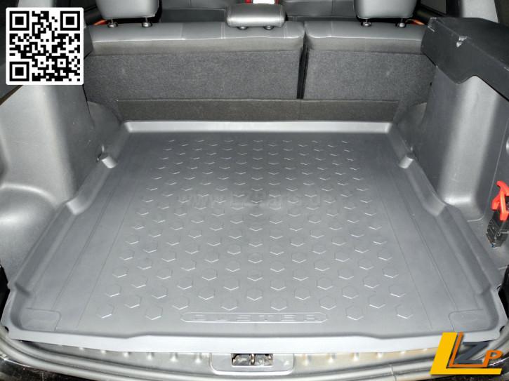 Dacia Duster 4x4 3D Passform Kofferraum Schutzwanne 2016
