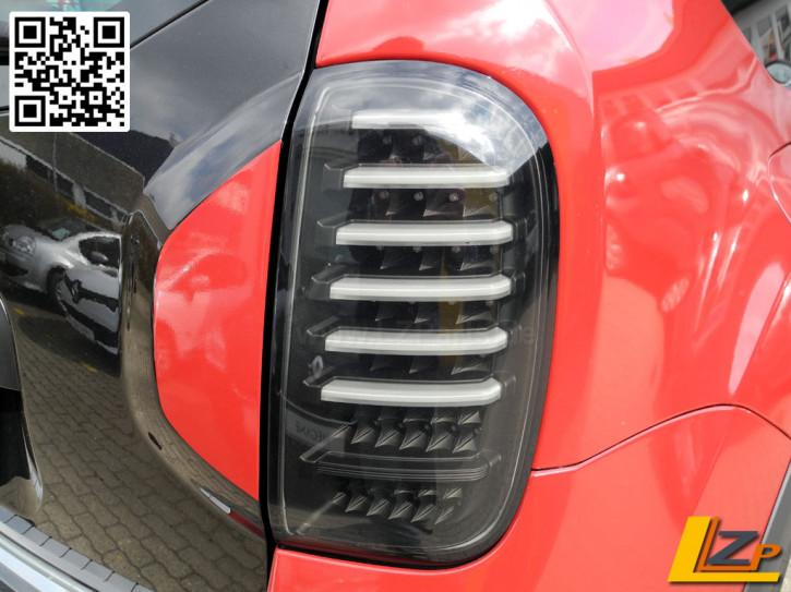Dacia Duster Voll LED Rückleuchten mit Dynamik Blinker Schwarz / Black