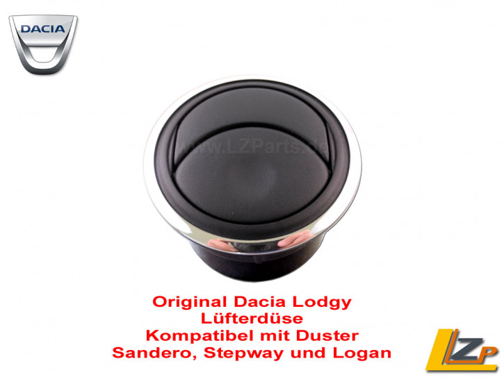 Dacia Lodgy Lüfterdüse mit Chrom