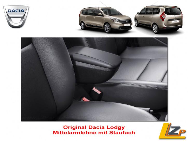 Dacia Lodgy Mittelarmlehne mit Staufach Leder