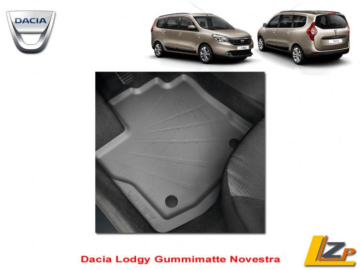 Dacia Lodgy 5 Sitzer Passform Fußmatten / Schneematten