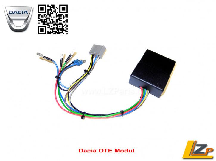 "Dacia/Renault Komfort-Fensterheber-Modul ""OTE"" one touch easy Positiv/Negativ"