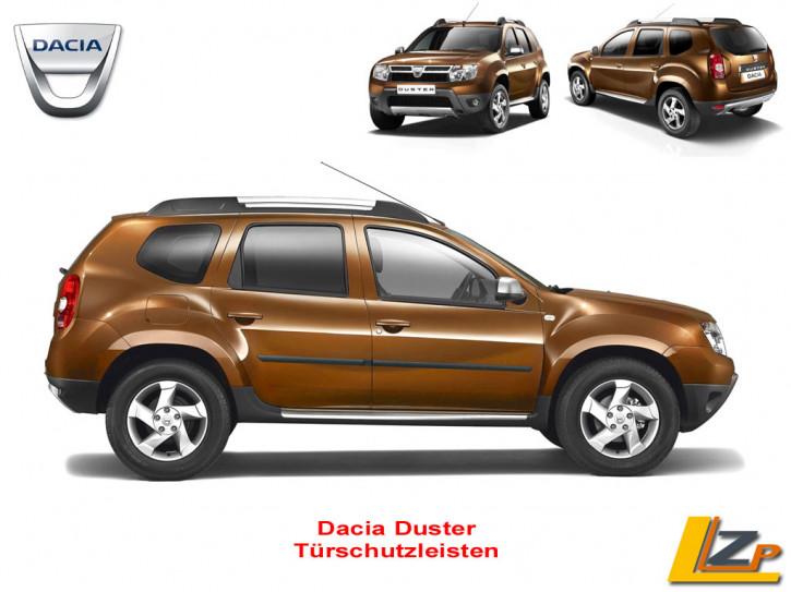 Dacia Duster Seitenschutzleisten / Türschutzleisten Set 4-teilig