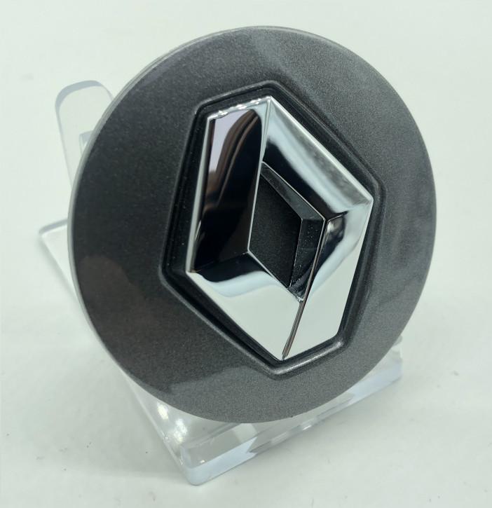 Renault Standard Nabendeckel für Alufelge Dunkel Anthrazit