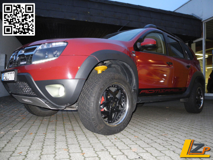 Dacia Duster 4x4 BILSTEIN B6 Lift Kit +30mm Series Springs