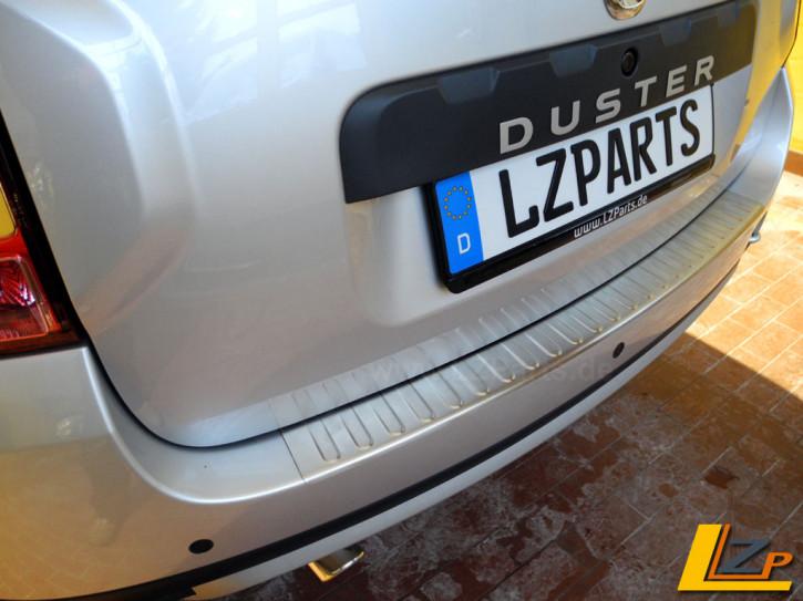 Dacia Duster Ladekantenschutz Chrom Brush