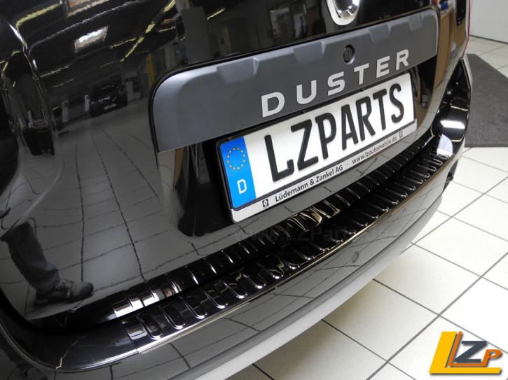 Dacia Duster Ladekantenschutz Chrom Smoke