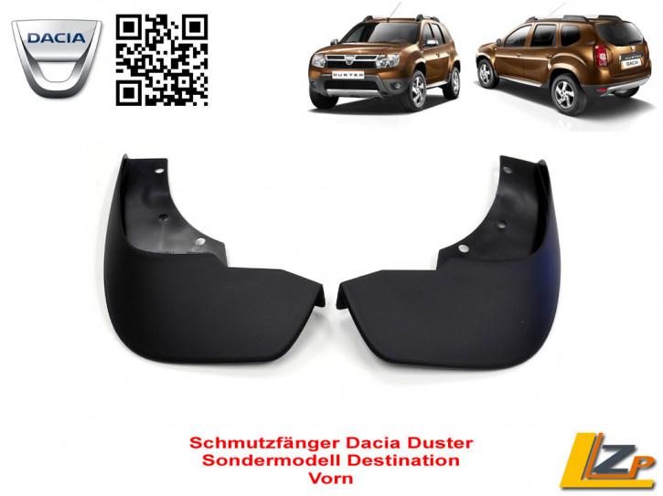 Dacia Duster Schmutzfänger vorn Sondermodell Destination