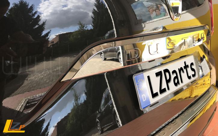 Dacia Duster II Rückfahrkamera Chrom Heckklappengriff Set
