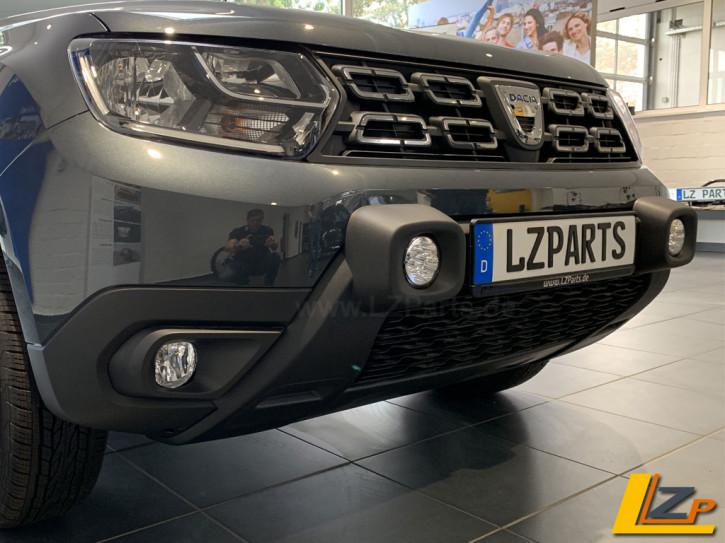 Dacia Duster II LED Zusatzscheinwerfer / Fernlicht Stoßfänger Schwarz Integriert