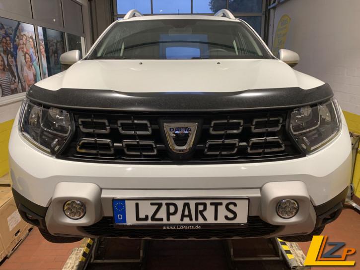 Dacia Duster II LED Zusatzscheinwerfer / Fernlicht Stoßfänger Silber Integriert