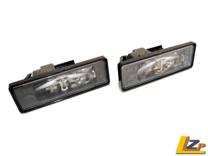 Original Renault LED Kennzeichenleuchten Set