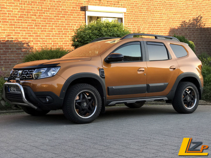 Dacia Duster II Chrom Seitenschweller Zierleisten Set 6-Teilig Edelstahl Poliert
