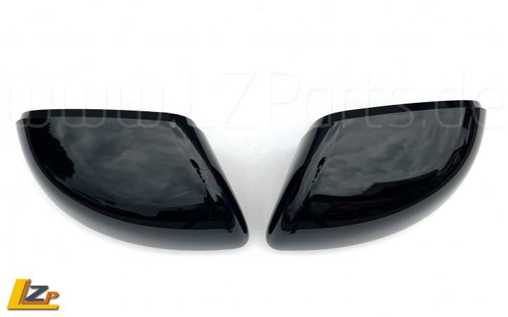 Dacia Duster II Original ABS Spiegelkappen Schwarz glänzend
