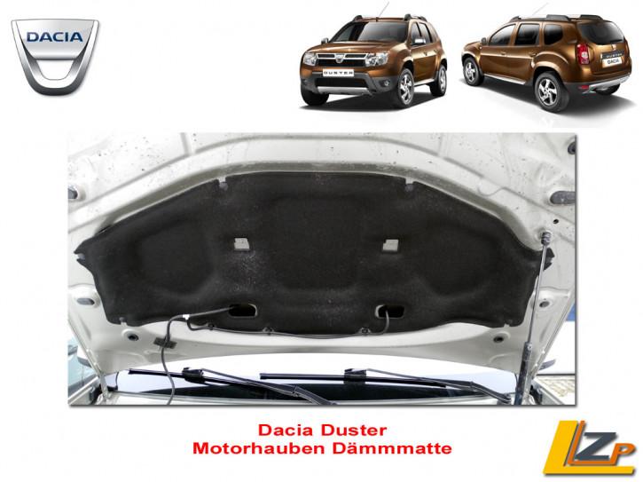 Dacia Duster Motorhauben Dämmmatte mit Befestigungstopfen