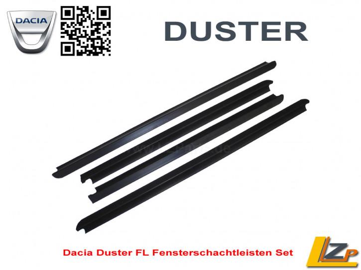 Dacia Duster Facelift 2014 Fensterschachtleisten