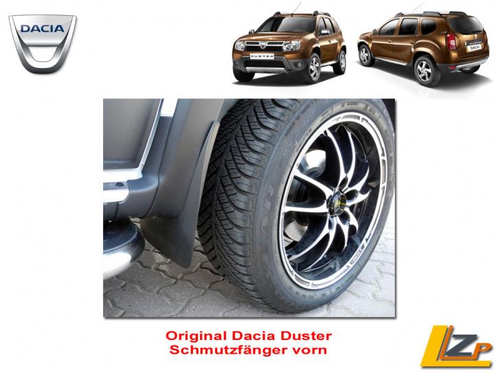 Dacia Duster Schmutzfänger Set vorn