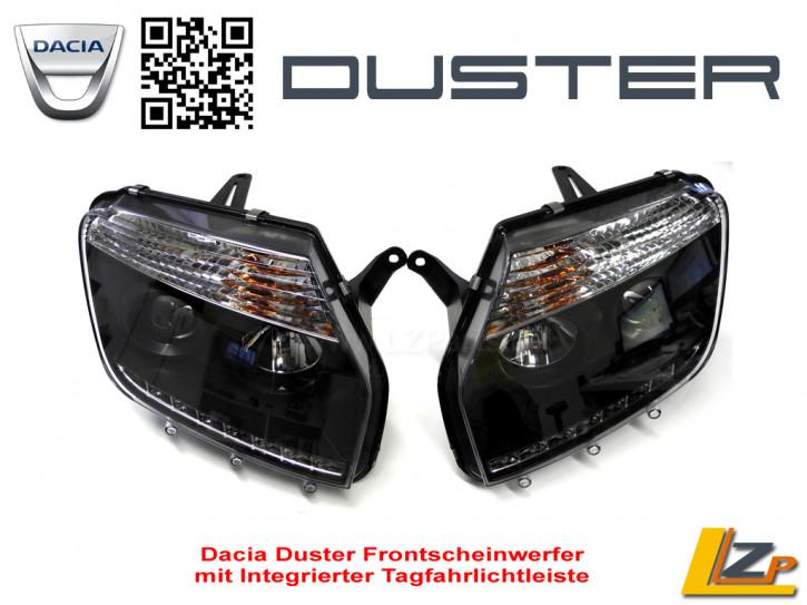 Dacia Duster Frontscheinwerfer mit LED Tagfahrlicht und Auto Dimm Funktion