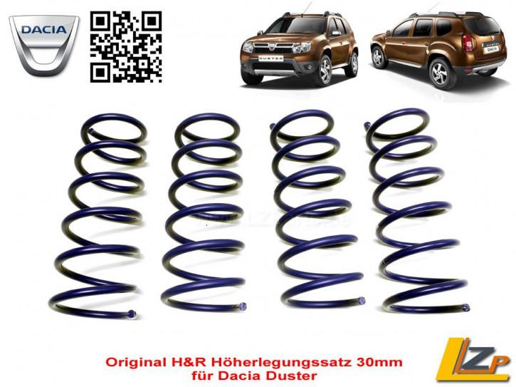 H&R Höherlegungssatz 30mm Dacia Duster 4x2 2WD