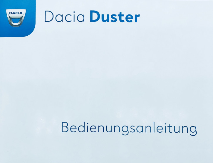 Dacia Duster II Bedienungsanleitung/Wartungsheft Neues Modell