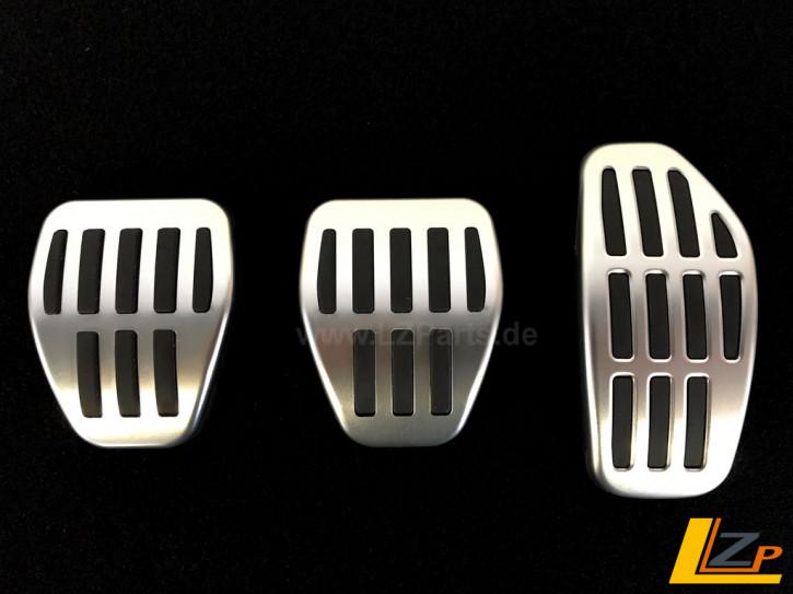 Aluminium Sportpedalauflagen Renault Kadjar Manuelles Schaltgetriebe