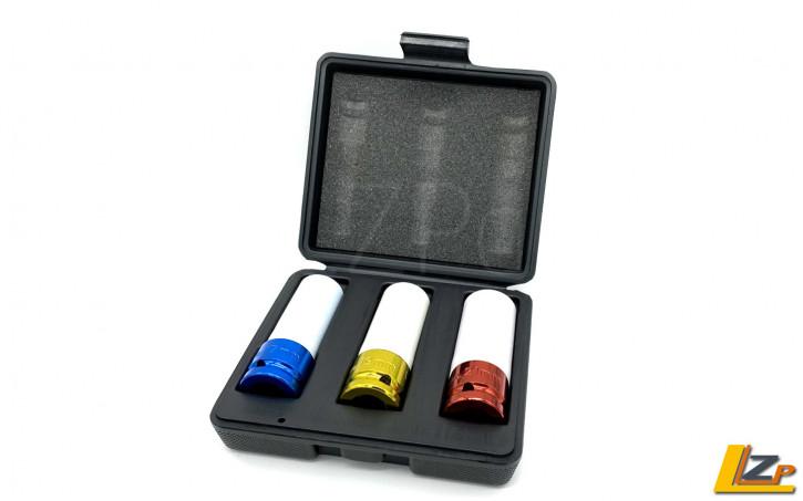 Kraft-Schoneinsätze für Radmuttern 1/2 SW 17 -19 - 21 mm