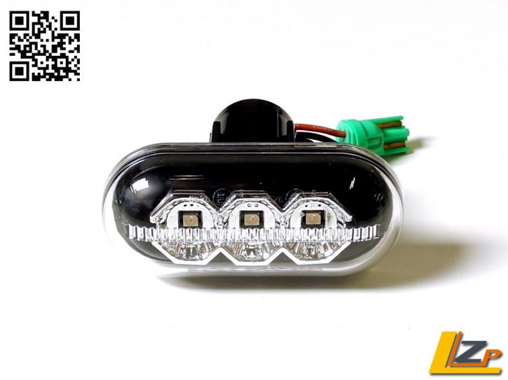 LED Seitenblinker Black Dacia / Renault