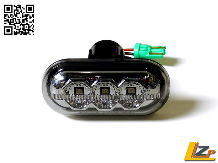 LED Seitenblinker Chrome Smoke Dacia / Renault