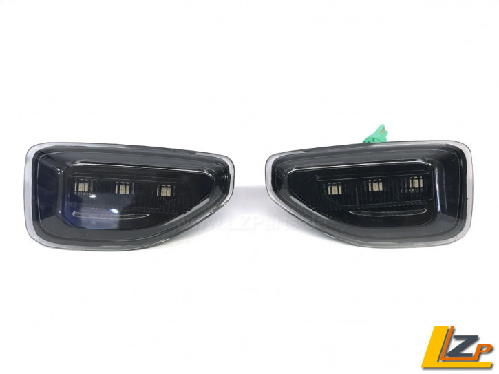 Dacia Duster II LED Seitenblinker Black Smoke Set
