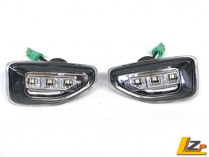 Dacia Duster II LED Seitenblinker Chrom Black Set