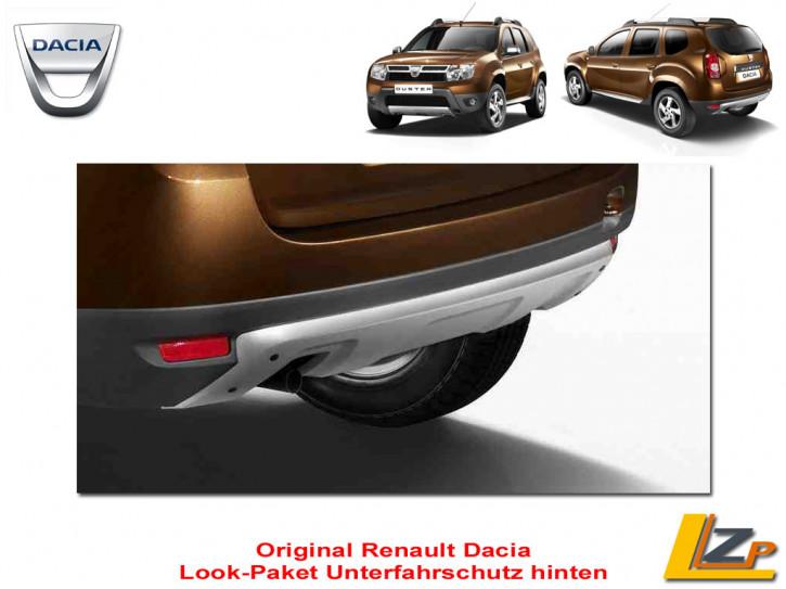 Dacia Duster Look-Paket Unterfahrschutz hinten