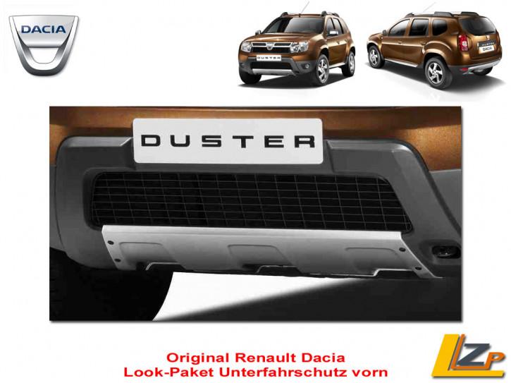 Dacia Duster Look-Paket Unterfahrschutz vorn