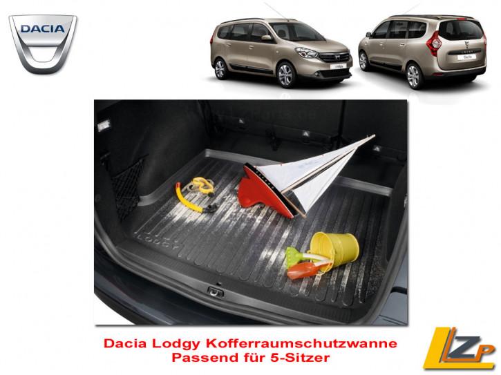 Dacia Lodgy Kofferraumschutzwanne / Kofferraumwanne 5-Sitzer