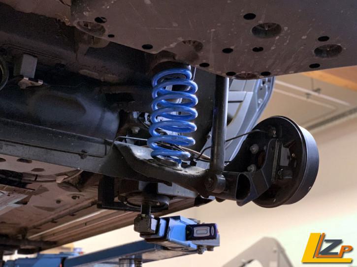 Dacia Duster II 4x2 SR ab 2018 Verstärkte Hinterachsfeder Set