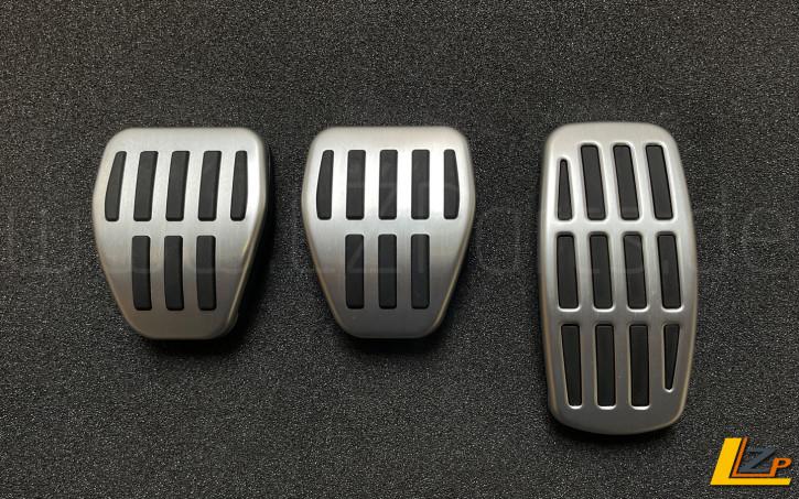 Aluminium Sportpedalauflagen Renault Megane IV Dacia Sandero III Manuelles Schaltgetriebe