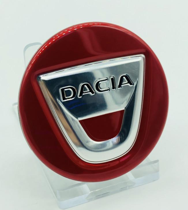 Dacia Nabendeckel für Alufelge Rot