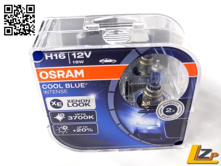 Osram H16 Cool Blue Intense Duo Box