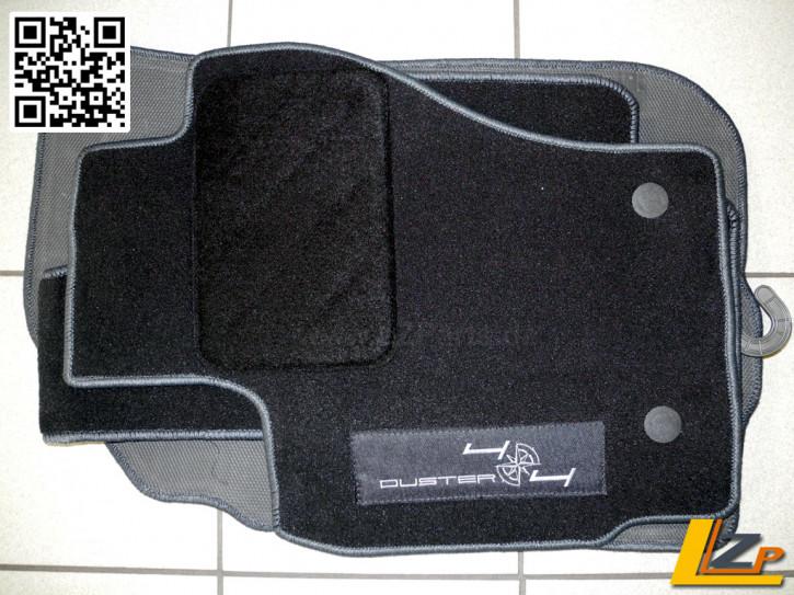 Dacia Duster 4x4 Heavy Floor Fußmatten Set