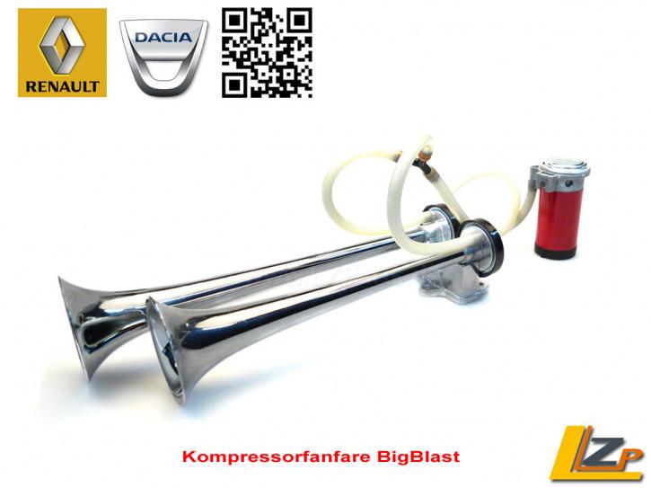 Kompressorfanfare Doppel-Fanfare Hupe BigBlast