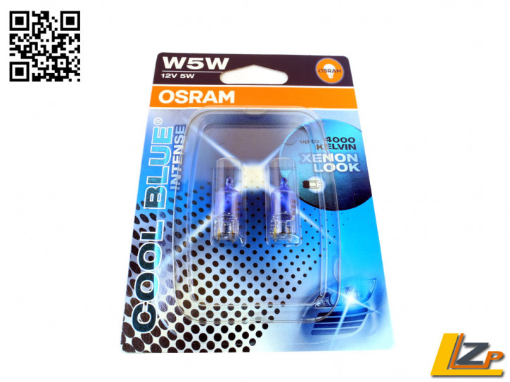 Osram W5W HALOGEN Cool Blue Intense Standlicht