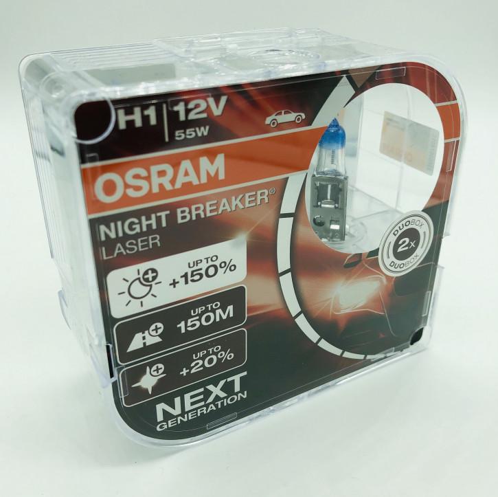 Osram H1 Night Breaker Laser +150% 2er Set